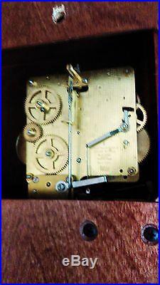 Vintage Howard Miller Westminster Chime Wall Clock 613-227