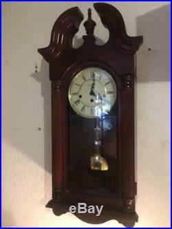 Vintage Howard Miller Wind Up Westminster Chime Wall Clock 620-234