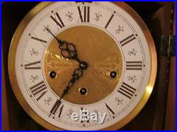 Vintage Jauch Wall Clock Westminster Chimes