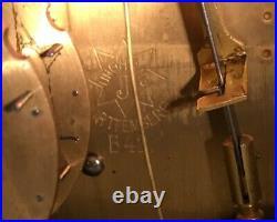 Vintage Junghans Wurttembeg Westminster Chime Mantel Clock, B42 Movement, Nice