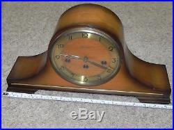 Vintage Linden Cuckoo Clock MFG Co Windup Mantel Westminster Chime Germany RARE