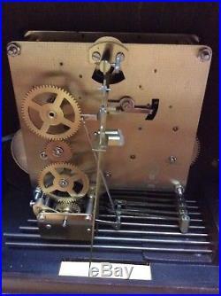 Vintage Linden German Triple Chime Westminster 8 Day Wall Clock