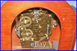 Vintage (Not Antique) Howard Miller Bracket Clock Runs Westminster Chime