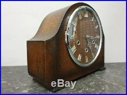 Vintage Retro 8 Day Westminster Chiming Mantle Clock