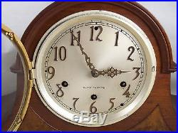 Vintage Seth Thomas 8 Day Mantle Clock withKey Westminster Chime Movement No. 124