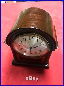 Vintage Seth Thomas Mantle clock Westminster chime bells antique