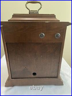 Vintage Seth Thomas Westminster Chime Key Wind Carriage Mantle Clock