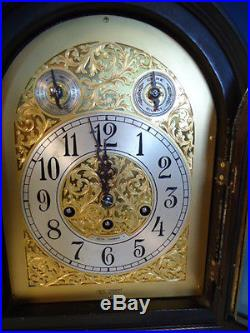 Vintage Seth Thomas Westminster Grand Chime #73 clock with great mahogany case