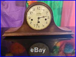 Vintage Seth Thomas Woodbury Mantel Clock 1302 Westminster Chime 18