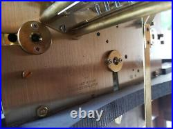 Vintage Sligh grandfather clock model 0961-1-AN triple chimes