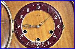 Vintage'Smiths' 8-Day Mantel Clock with Westminster Chimes
