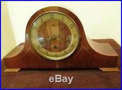 Vintage Style King Mantel Clock -Germany Westminster Chimes
