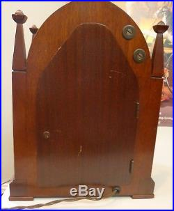 Vintage TELECHRON REVERE CLOCK WESTMINSTER CHIME MANTEL CLOCK ELECTRIC