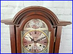 Vintage Waltham Tempus Fugit 31 day Chiming Wall Clock with Key Working