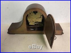 Vintage Wooden Howard Miller Mantle Clock Westminster Chimes Mint Works Great
