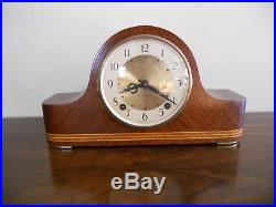 Vintage antique Seth Thomas Preston 8 day Westminster chime mantle clock With key