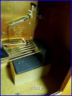 Vintage-howard Miller Mantle Westminster Chime Clock West Germany 340-020