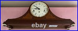 Vtg Howard Miller Livingston Wood Mantle Clock Westminster Chime 630-128 EC