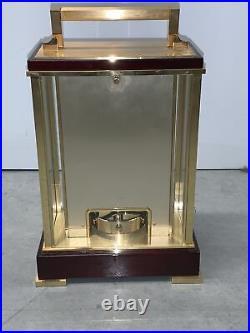 Vtg Japan Seiko Westminster Whittington Chime Gold Mantle Moon Phase Clock
