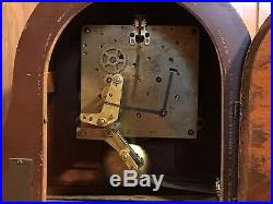 Vtg Seth Thomas 8 Day Westminster Chime No. 124 Mantle Clock