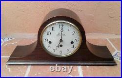 Vtg Seth Thomas 8 Day Westminster Chime Woodbury Mantel Clock 1302A parts/repair
