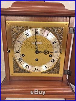 Vtg Seth Thomas Bracket Clock with Westminster Chimes Runs Strikes & Chimes