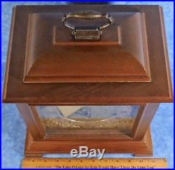 Vtg. Seth Thomas LEGACY Bracket Mantel Clock- German Westminster Chimes- Works