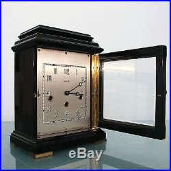 WARMINK HERMLE Clock HIGH GLOSS Holland/Germany Westminster Chime Vintage Mantel