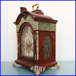 WARMINK TOP RANGE! LARGEST! Clock HIGH GLOSS Vintage WESTMINSTER MOONPHASE Chime