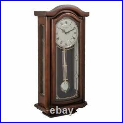 WILLIAM WIDDOP Broken Arch Pendulum Clock Westminster