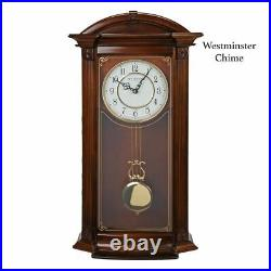 WILLIAM WIDDOP Pendulum Wall Clock Westminster Chime