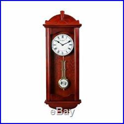 WILLIAM WIDDOP Wooden Pendulum Clock Westminster Chime h 71
