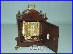 Warmink 8 day Westminster, Whittington, St. Michael, Moonphase, 8 Bars, Bracket Clock