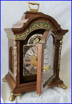 Warmink Clock Triple Chime Westminster, Winchester and St Michael Green Banded