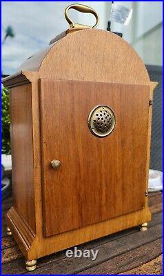 Warmink Westminster Clock Vintage Dutch 8 Day Quarter Chime On Silent Option