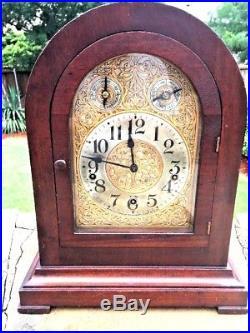 Waterbury #503 Westminster Chime Mantel Clock