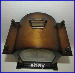 Welby Quarter Hour Westminster Chime Bracket Clock made in Germany 8-day