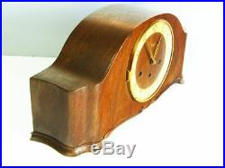 Westminster Art Deco Design Chiming Mantel Clock From Kienzle Germany