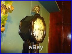 Westminster Chime Banjo Clock New Haven, Washington, Antique Piece