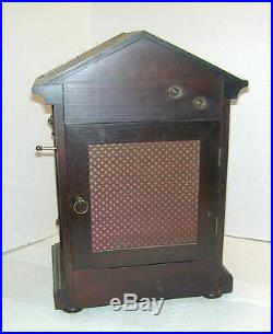 Westminster Chime Kienzle Mahogany Shelf Clock