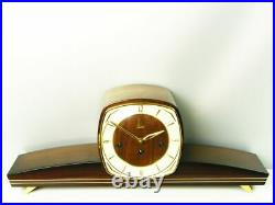 Westminster Later Art Deco Chiming Mantel Clock Emes Hermle From 50 ´s