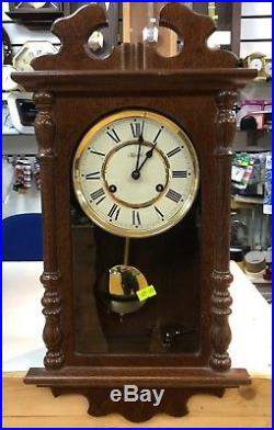 Wind-up Westminster Chime Pendulum Wall Clock