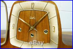 Wuba Mantel Clock Westminster Chime Perfect condition from 1960 Dutch