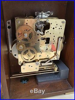 Wuba Warmink, three holes, table / bracket clock, westminster chiming